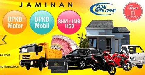 6 Lokasi Gadai BPKB Motor Tanpa Survey Jakarta