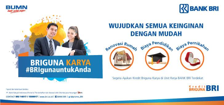 Pinjaman Bank BRI Jaminan SK Karyawan,BRIGuna Saja ...